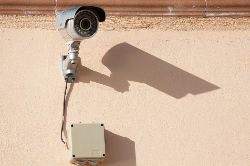 IP-Kamera im Einsatz